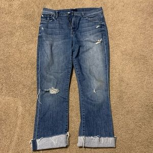 Mother Size 29 cropped jeans